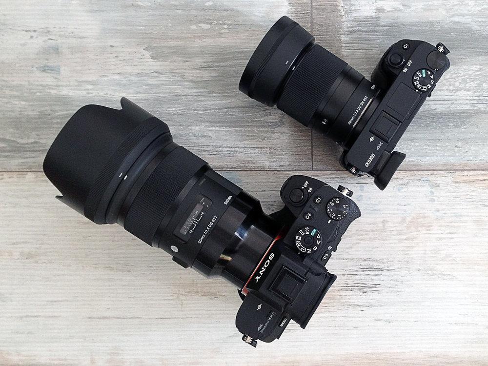 Sony_a7rii und Sony_a6300.jpg