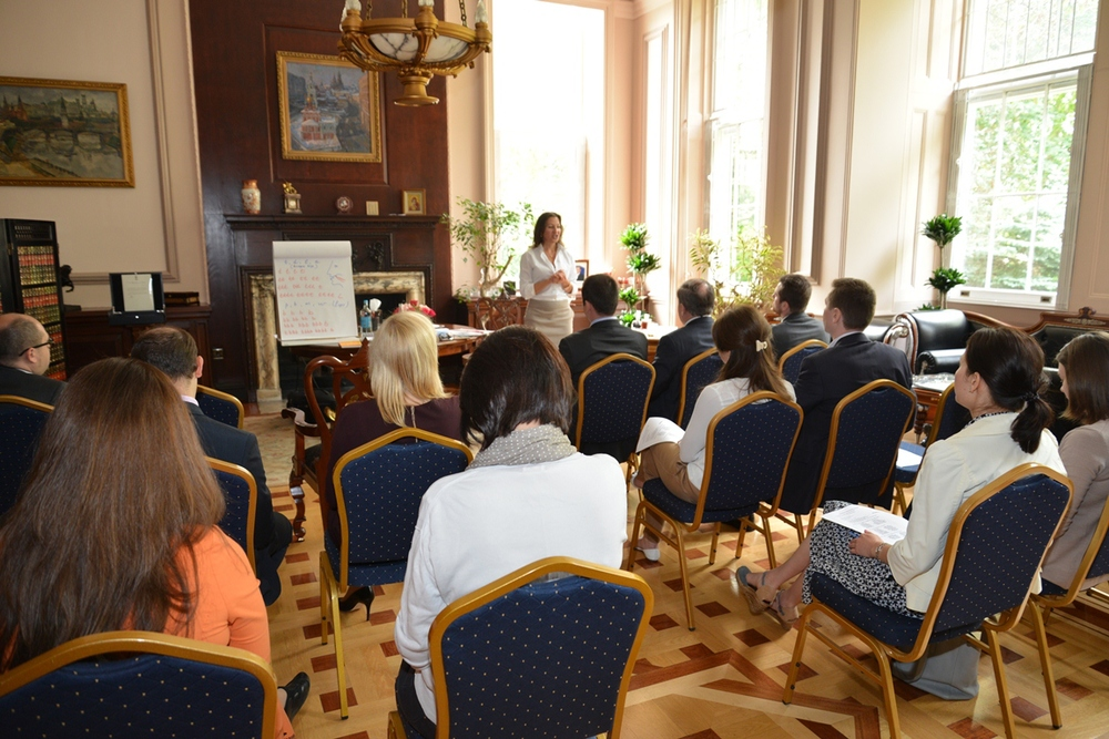 "OFFICE      Ambassador of the Russian Federation to the United Kingdom of Great Britain and Northern Ireland     www.rusemb.org.uk  1 July 2015  "" I was very surprised to attend so interesting a class - which, as I've noticed, everybody enjoyed. I've spoken to my colleagues and all of them have found it very productive. As I previously learned French phonetics, I can say that your method is very useful, because you start from the base matters (how to move the tongue in the right way). From my point, of view it is quite difficult to learn any matter, and especially phonetics, without attending classes. Because the teacher gives much more than a book. And your proved it 100%. Thank you once again for your course! "" Stanislav Suprunenko, Head of the Ambassador's Office"