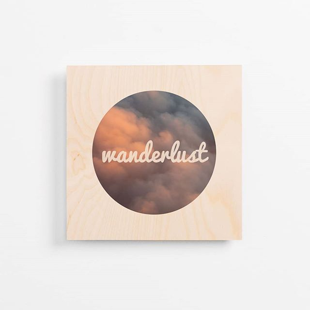 Wanderlust ✨ . . . #travel #printonwood #wanderlust #artwork #woodtowall #woodprint #plywoodprint #travelprint #melbournemade #australianart #lifestyle #interiordesign #travelphotos