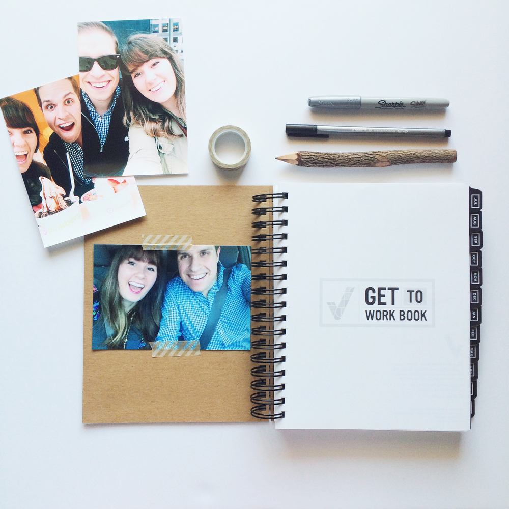Personalize Get to Work Book