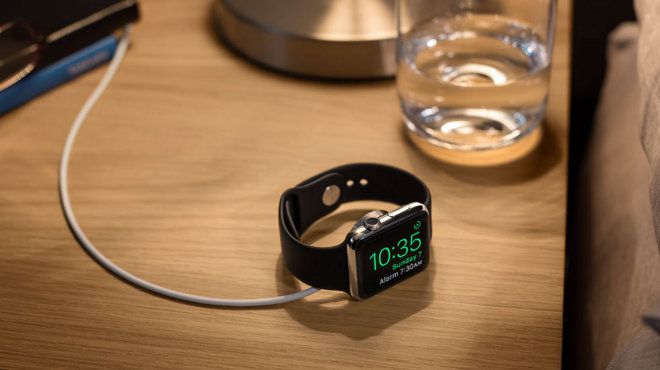 Apple Watch nightstand