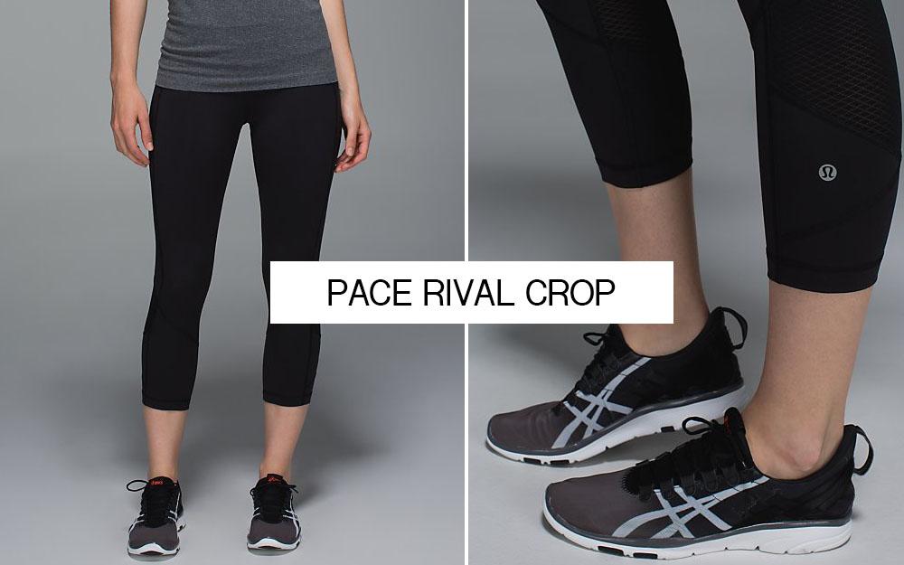 Lululemon Pace Rival Crop