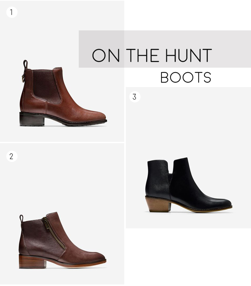 On the Hunt for Boots | ashleyjoanna.com