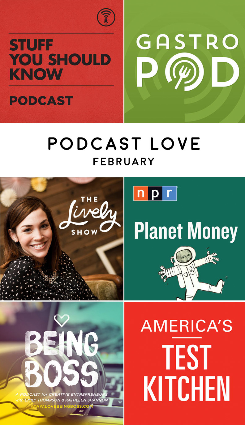 Podcast Love | February