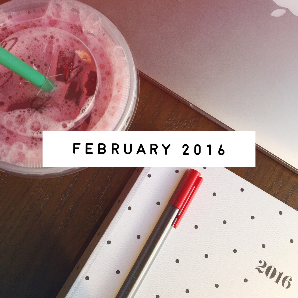 February in Review | ashleyjoanna.com