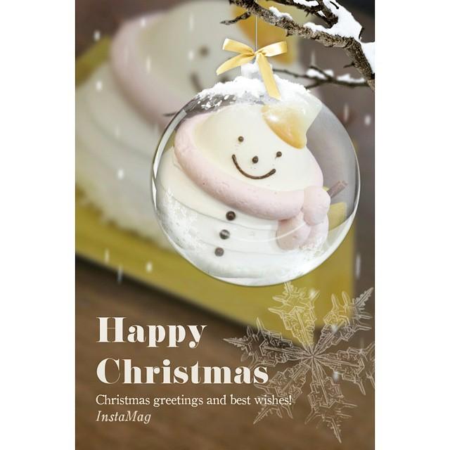 #merryChristmas  #Christmascake  #可愛い😍  #食べるのがもったいない