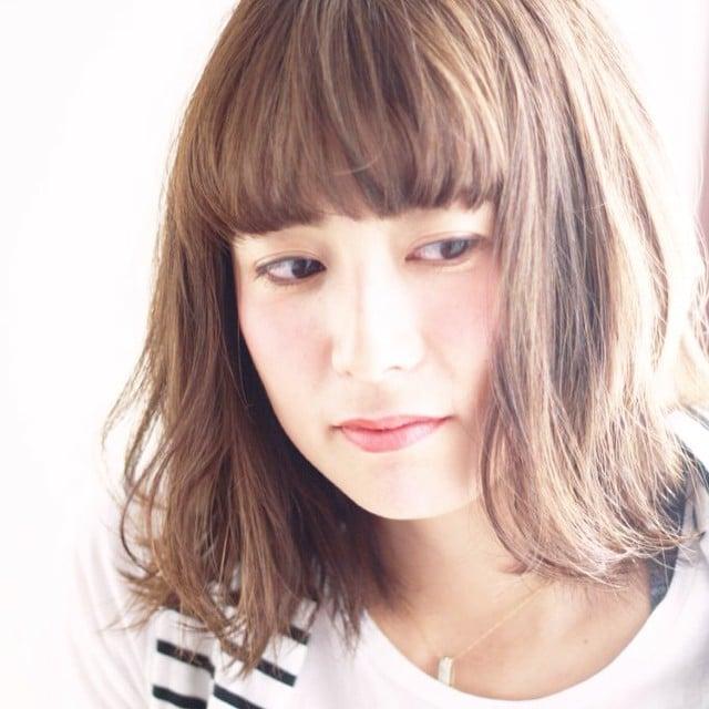 スタリスト Garden平尾 #HairStyle #Hair #Medium #long #美容室 #サロン#撮影 #秋冬 #カラー #サロンスタイル  #ヘアスタイル #前髪 #ヘアカタ #美容師 #ボブ#外人風 #透明感 #アッシュ #ヘアサロン#WASABI_INC_GALLERY