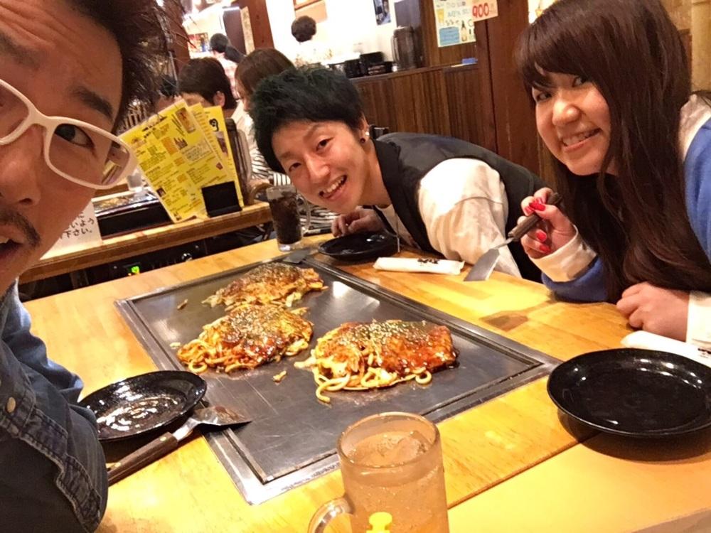 もちろん広島焼も食べてきました!