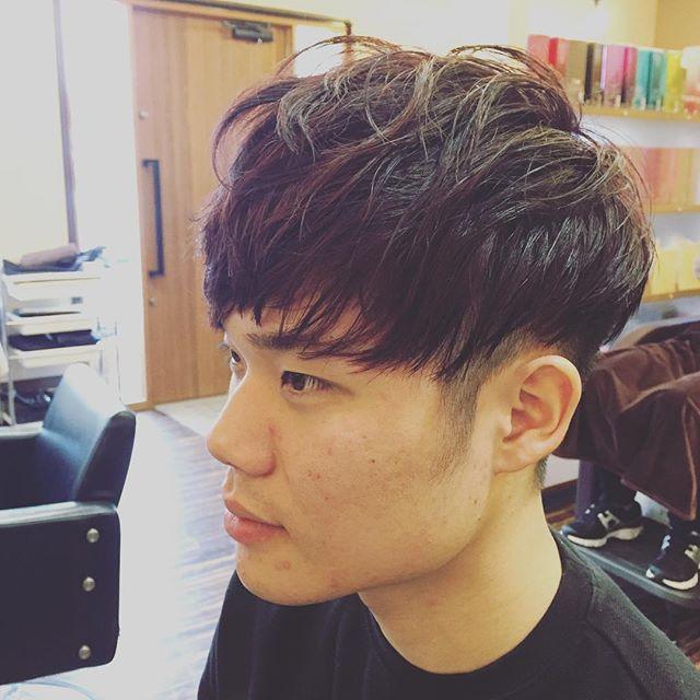 韓国人みたいに!!とのことで 高い位置まで刈り上げ!! 韓国風マッシュスタイル  #メンズヘア  #ヘアスタイル  #江南市  #美容室  #wasabi_inc  #メンズヘアー #韓国 #マッシュスタイル
