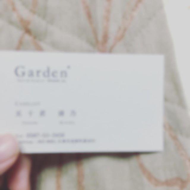 🌸入社式🌸 めっちゃ緊張したけどたのしかった💗 自分の名刺もらった💗 4月から頑張ります❣️❣️ #Garden#美容師 #1年目#新生活スタート #がんばる💪 #ドキドキ💓 #不安 #名刺#ケアリスト #夢が叶った✨