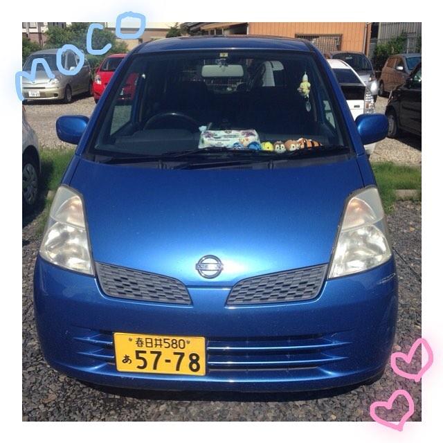 mocoラスト出勤!! #もこ #モコ #moco #日産 #2年間ありがとう #おつかれさまでした #大好き #たくさん旅した #青い車
