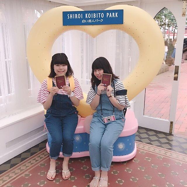 北海道本当に楽しかった〜〜❤️ 色々ありすぎて大変だったけど楽しすぎた❤️ もも❤️きよの 7月3日〜4日❤️❤️ #北海道旅行 #楽しすぎた💓 #食べて食べて食べて食べまくった #白い恋人パーク #小樽 #オルゴール堂 #ロイズチョコレートワールド #くまちゃん🐻 #かわいい❤️ #新千歳#札幌 #大好き💕 #もも❤️きよの