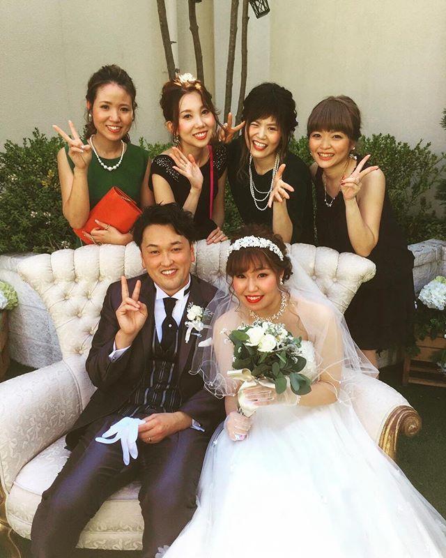 愛ある愛ちゃんのwedding!!! たのしーたのしー❤️ #weddingdress #weddingparty #wedding#happy#followme #surprise #bride #結婚式#愛知結婚式#プレ花#星ヶ丘アートグレイスクラブ#花嫁#次は私だ…