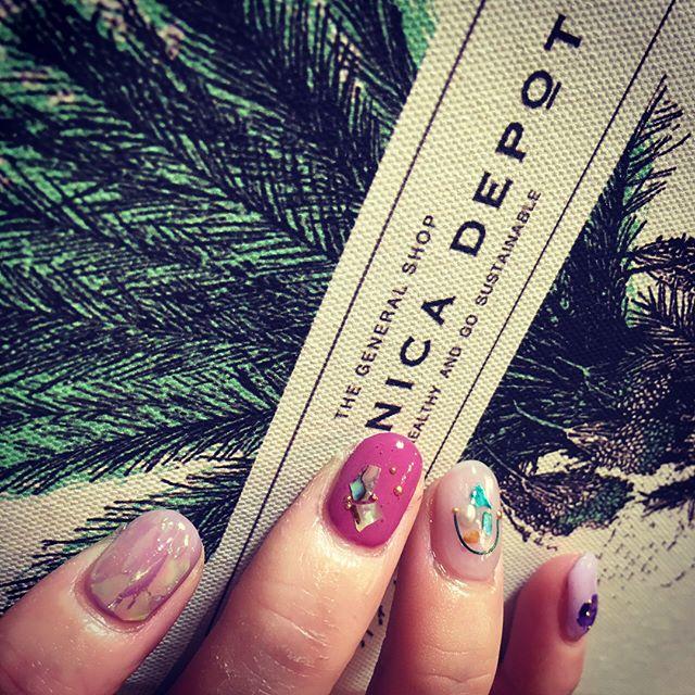 new nail とってもお気に入り♡ いつもありがとうございます💓  #ジェルネイル#nail  #美容師 #nailatelie323  @imifumi