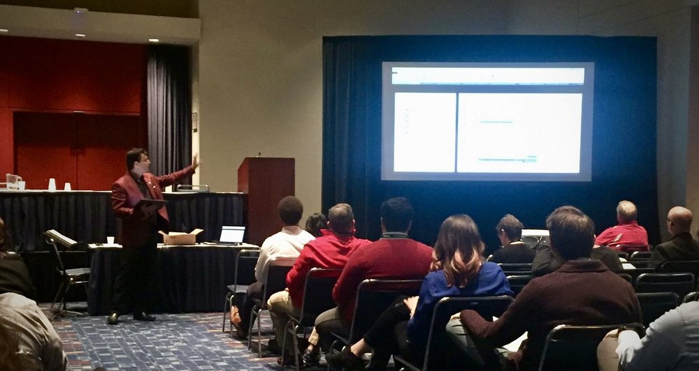 Presenting  Digital Workflows for Musical Directors  at Midwest Band and Orchestra Conference (Chicago 2018)