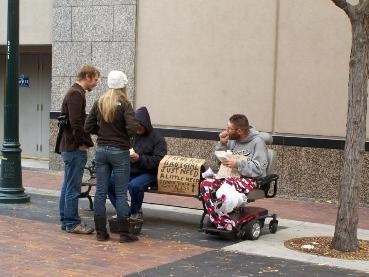 homeless compassion