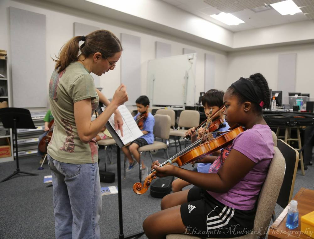 Ms. Nikki's Beginner Strings Class