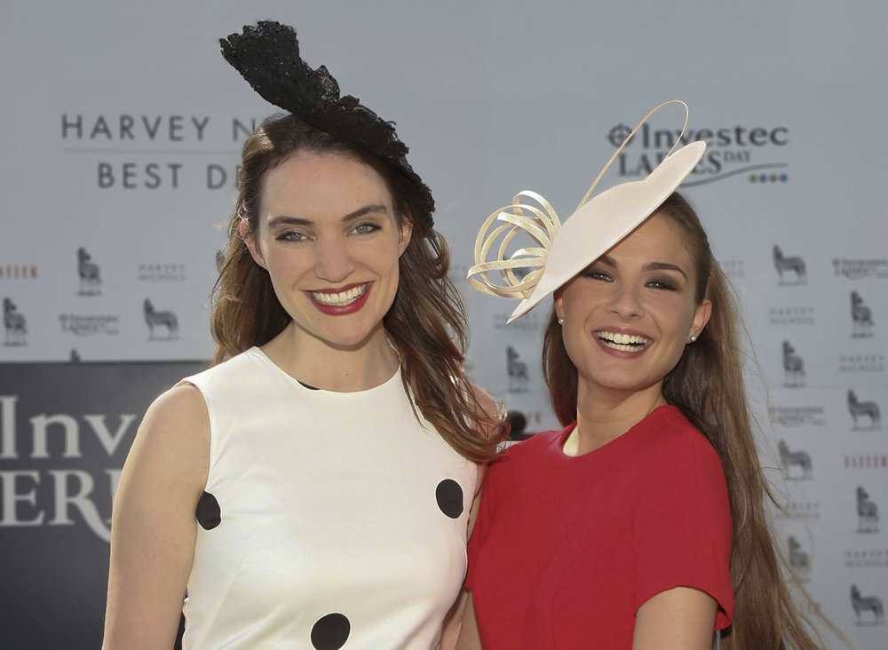 Tatler's Mariella Tandy with winner Rosie Devito