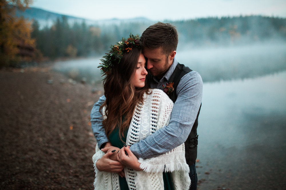 Alexa + Korey // Glacier National Park, MT