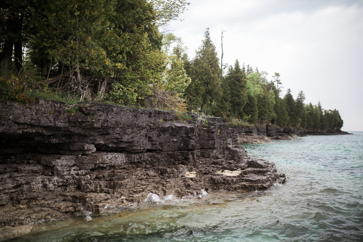 Featured Location Cave Point County Park Door County Wisconsin