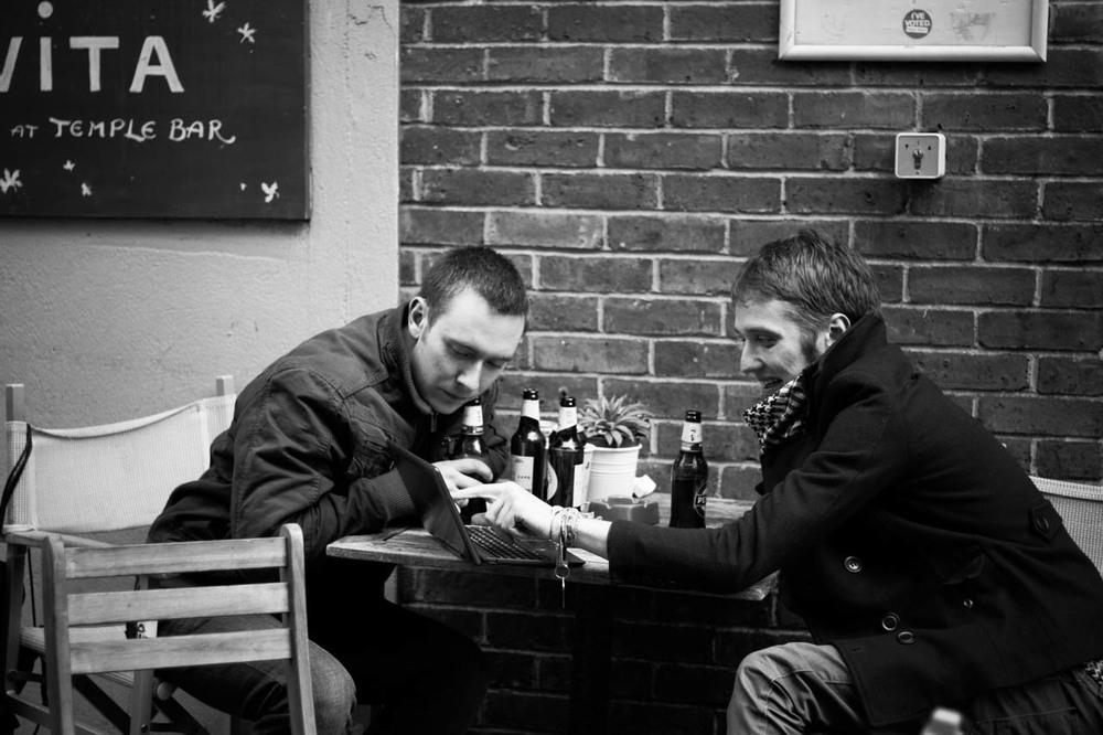 """Memories of Hipsterland - III"" Series. Dublin, Ireland, 2015"
