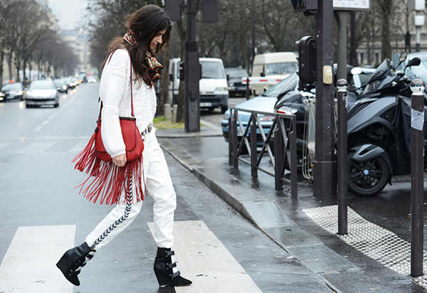 Superchic yet relaxed and slacker look mixing Isabel Marant and Gucci
