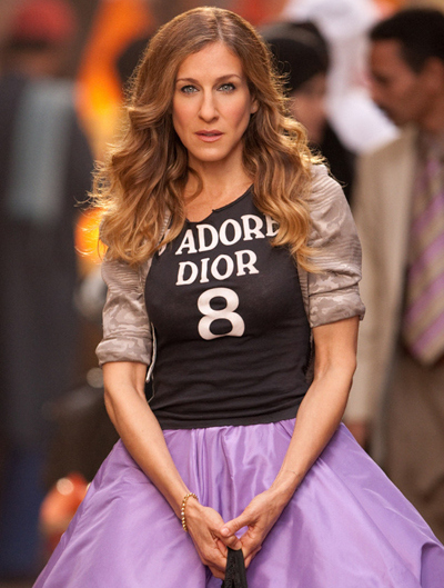 We want to match Dior t-shirts and big girlie skirts.