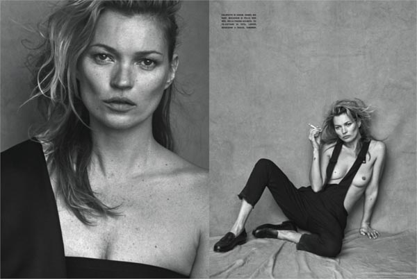 Kate Moss for Vogue Italia