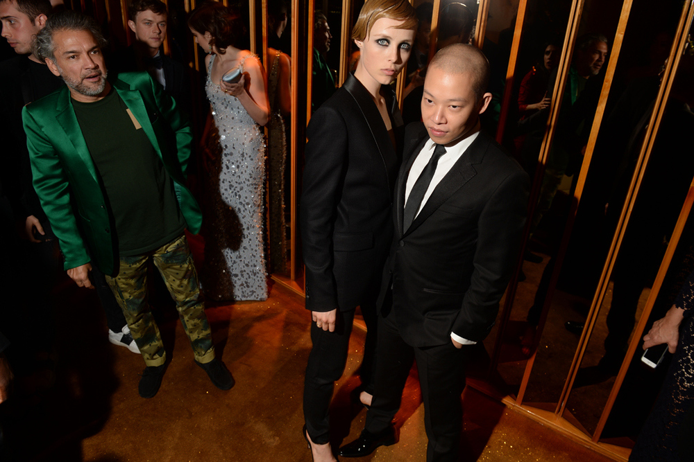 Edith Campbell and Jason Wu