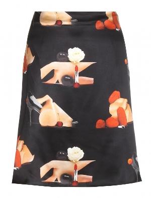 Acne printed skirt