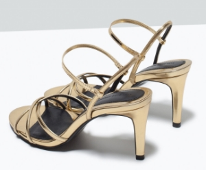 strappy sandals zara