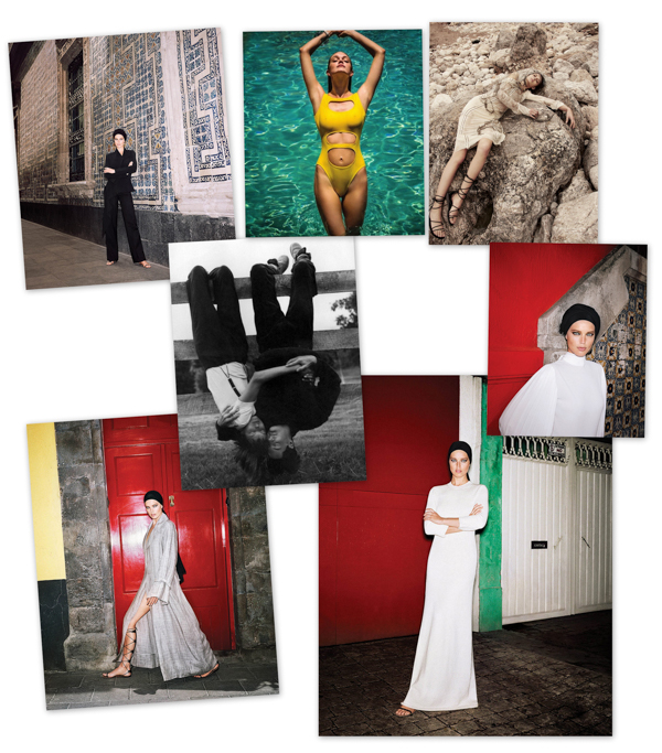 Images via Space Matters, Fashiongonerouge and The Fashionography.