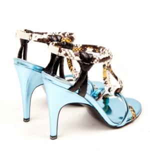metallic heels acne studios