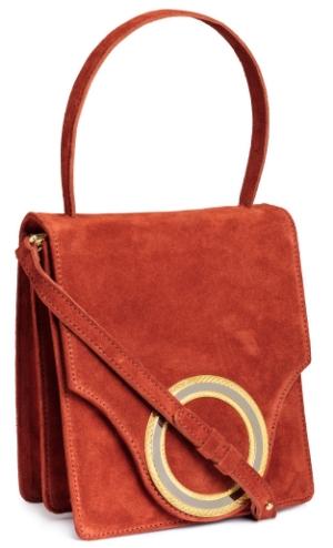 suede messenger bag