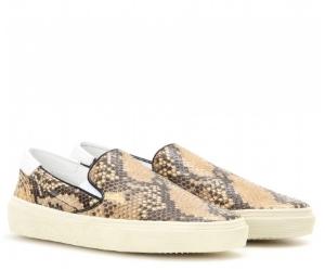 saint laurent slip-on sneakers