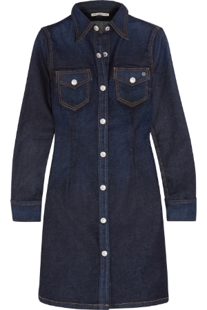 denim dress ag jeans alexa chung