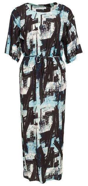printed boho dress