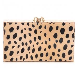 charlotte olympia leopard clutch