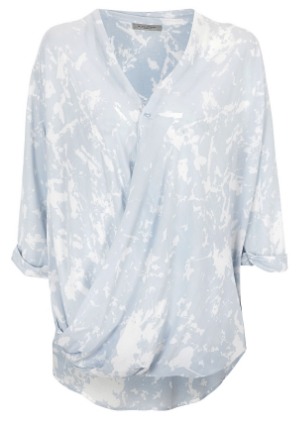 hunkydory wrap blouse