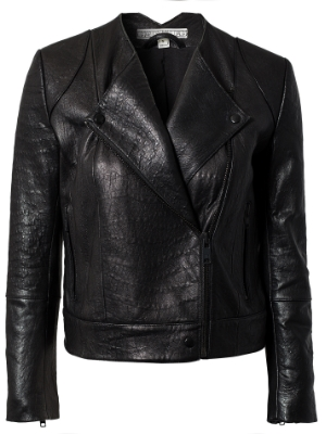 leather jacket house of dagmar