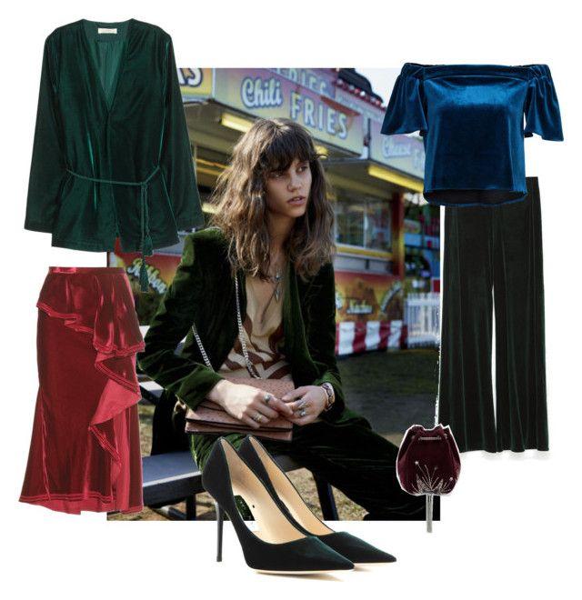 Jacket, H&M. Skirt, Givenchy. Pumps, Jimmy Choo. Top, Nelly.com. Pants, Zara. Purse, Zara.