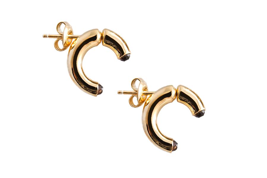 charlotte bonde hoop earrings