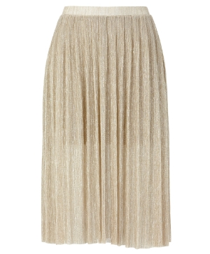 gina tricot gold skirt