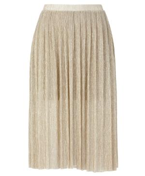 gina tricot gold skirt