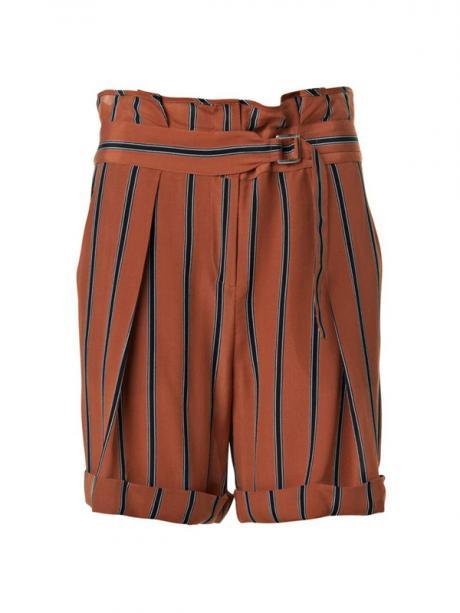 by malene birger striped shorts