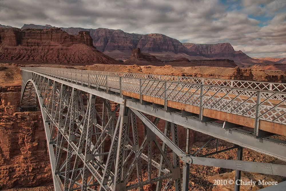 Navajo Bridge - Marble Canyon_DSC_0460CHARLYMOORE.jpg