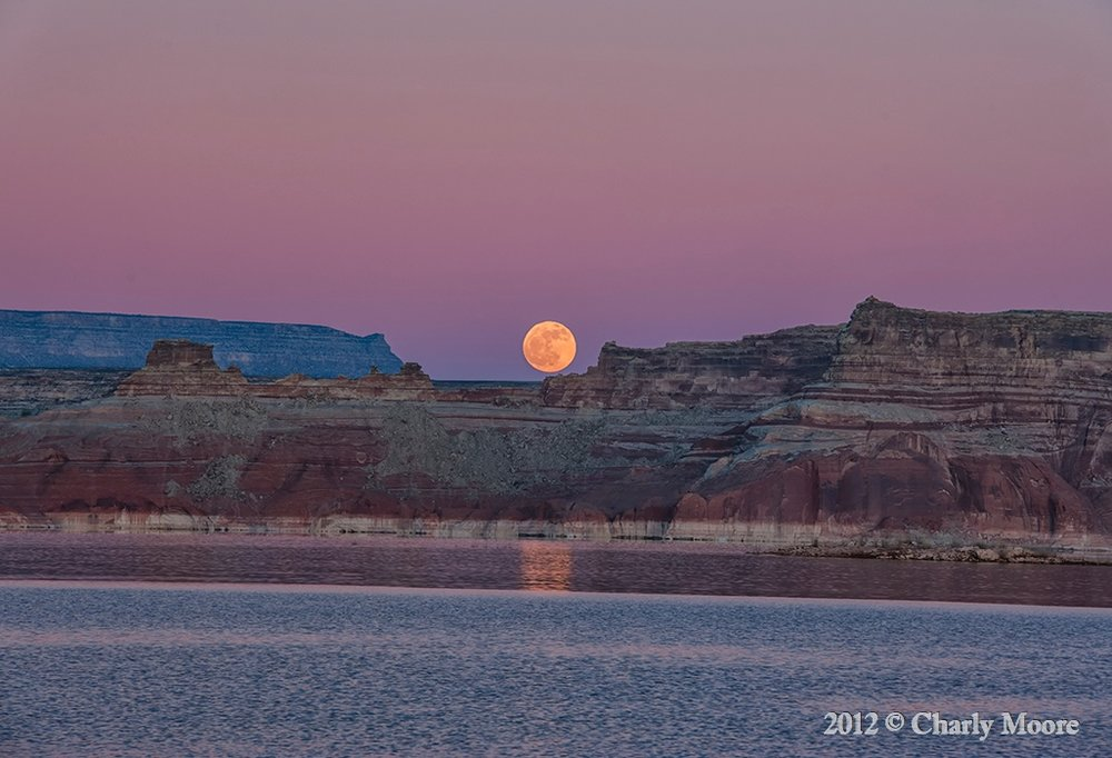 Lake Powell Moon RiseCHARLYMOORE.jpg