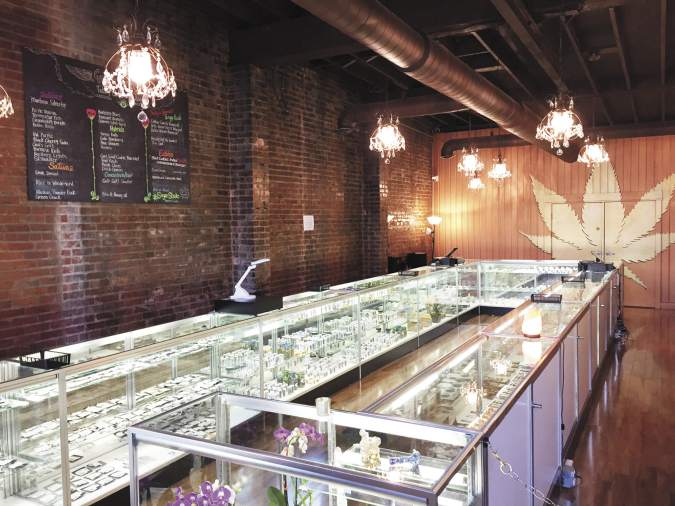 Ganja Goddess recreational cannabis dispensary in Seattle, Washington
