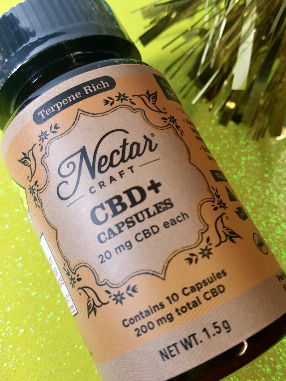 Nectar Craft CBD Capsules Ganja Goddess