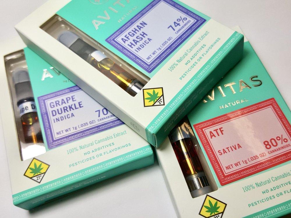 Avitas Cartridges Ganja Goddess